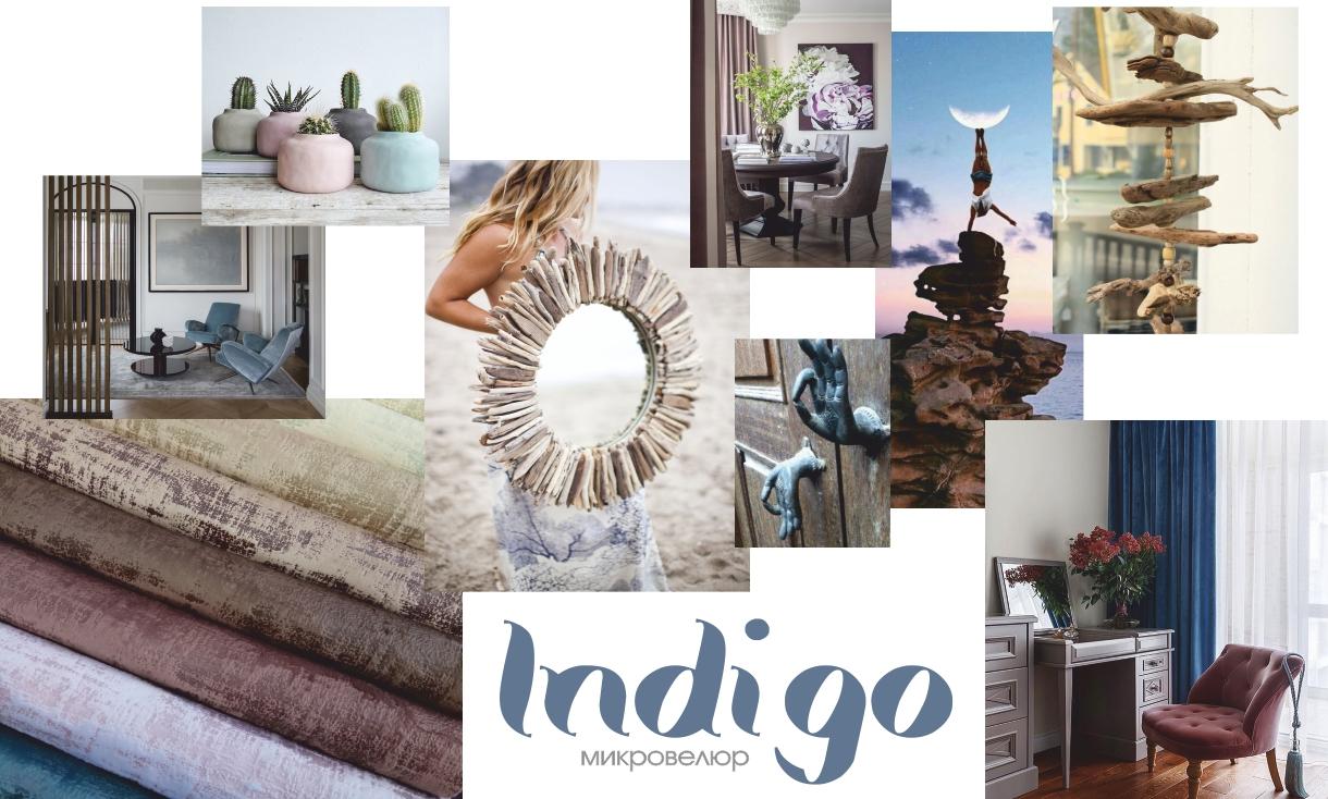 Indigo top