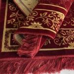 Коврик D9262 красный (110*70).