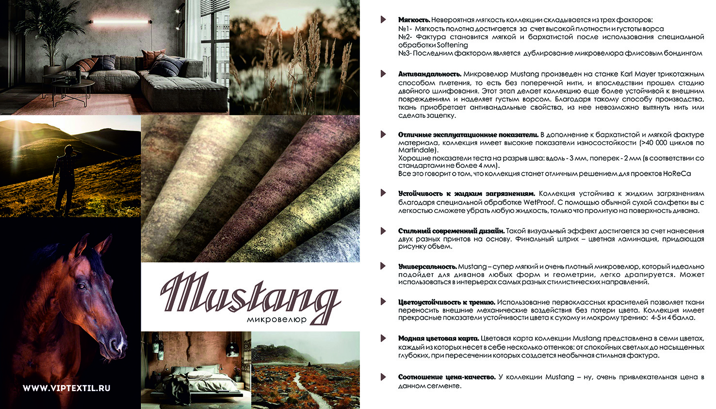 Mustang advantages full small