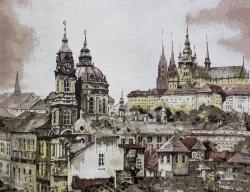 Prague brick