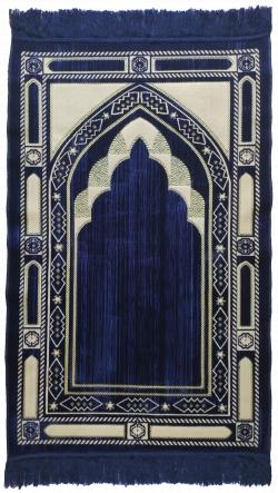 Коврик D1174 синий (110*70)