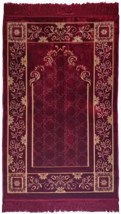 Коврик D9262 красный (110*70)