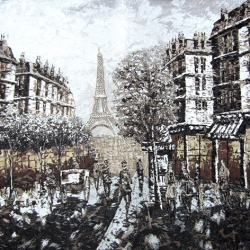Paris dark brown